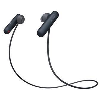 SONY sluchátka WI-SP500 bezdr.,černá