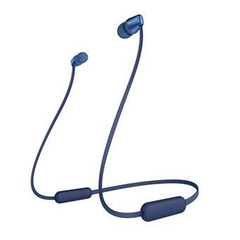 SONY sluchátka WI-C310 bezdr.,modrá