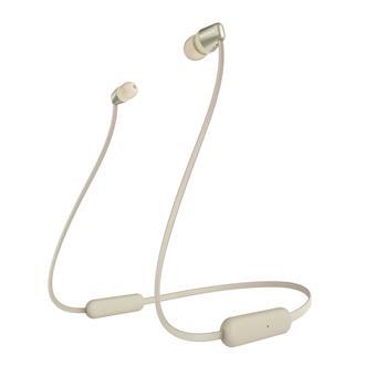 SONY sluchátka WI-C310 bezdr.,zlatá