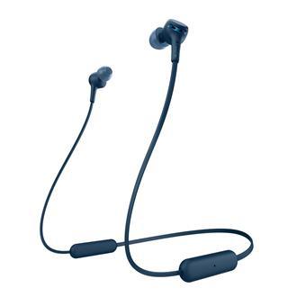 SONY sluchátka WI-XB400 bezdrátová, modrá