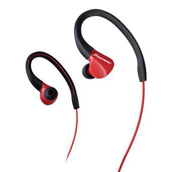 Pioneer SE-E3 závěsná sportovní sluchátka červená