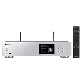 Pioneer síťový Hi-Res audio přehrávač stříbrný