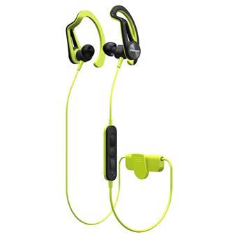 Pioneer SE-E7BT závěsná sportovní sluchátka s Bluetooth žlutá