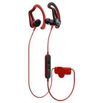 Pioneer závěsná sportovní sluchátka s Bluetooth červená