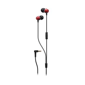 Pioneer SE-QL2T špuntová sluchátka s mikrofonem červená