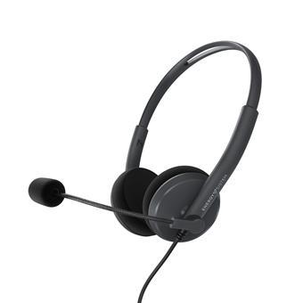 Energy Sistem Headset Office 2, komunikační sluchátka s mikrofonem, USB kabel k PC, černá