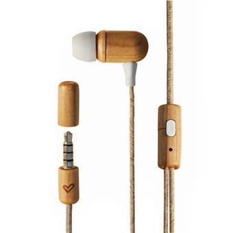 Energy Sistem EP Eco Cherry Wood, sluchátka do uší, 3,5 mm jack, materiál dřevo