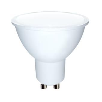 WE LED žárovka SMD2835 MR16 GU10 7W teplá bílá