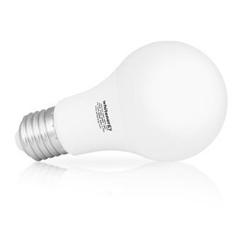 WE LED žárovka SMD2835 A60 E27 8W teplá bílá