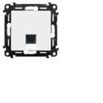 Valena LIFe 1xRJ45 C5E UTP bílá lin.