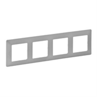 Valena Life rámeček 4-násobný hliník