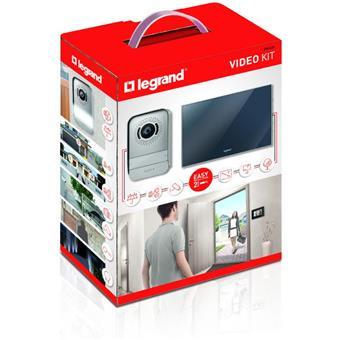 Sada video telefonu 2-vodičová 1 byt, LCD zrcadlov
