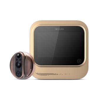 Dveřní kukátko digitální Wi-fi VEIU Smart copper (měď)