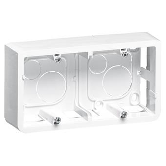 MOSAIC krabice na povrch 4-5 modulů hloubka 40 mm