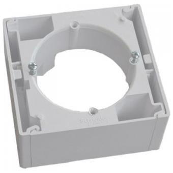 Asfora krabice na omítku 1-násobná White