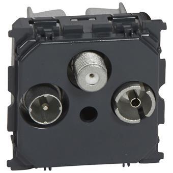 Céliane přístroj zásuvky TV+R+SAT koncové 1,5dB