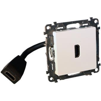 Valena Life zásuvka HDMI 1.4 4K bílá