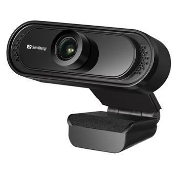 Sandberg USB Webcam Saver 1080P, černá