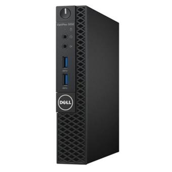 Dell PC Optiplex 3050U Micro i5-7500T/8G/256GB SSD/WiFi/DP/HDMI/W10P/3RNBD/Černý