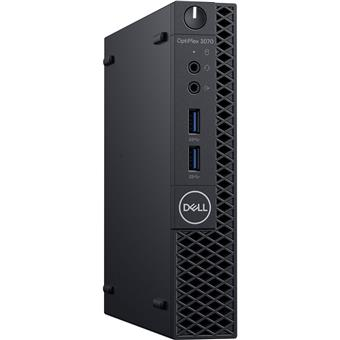 Dell Optiplex 3070 MFF i5-9500T/8G/500G/WiFi/W10P/5y NBD