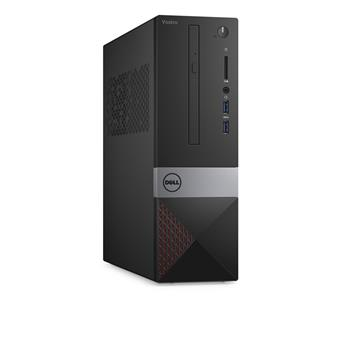 Dell PC Vostro 3268 SF i3-7100/4GB/1TB/VGA/HDMI/DVD-RW/WiFi+BT/W10P/3RNBD/Černý