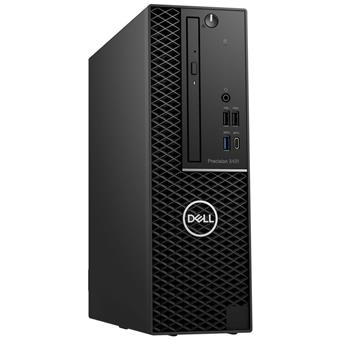 Dell Precision 3431 SF E-2224/16GB/256SSD+1TB/WX2100-2GB/DVD-RW/No-WiFi/DP/W10P/5RNBD/Černý