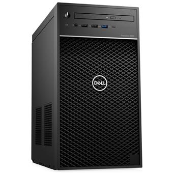 Dell Precision 3630 Tower i7-9700/16GB/256GB SSD+1TB/P1000-4GB/DVD-RW/USB-C/DP/W10P/3RNBD/Černý