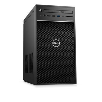 Dell Precision T3630  i7-8700/16GB/256GB SSD+2TB/P2000-5GB/DVD-RW/USB-C/DP/W10P/3RNBD/Černý