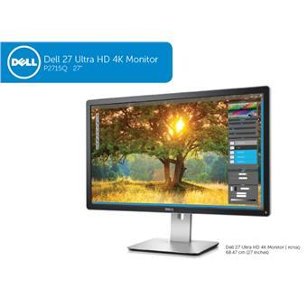 """27"""" LCD Dell P2715Q UHD 4K 3H-IPS/16:9/HDMI+DP - CZ distribuce"""