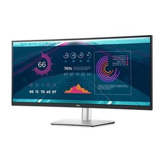 """34"""" LCD Dell P3421W IPS Curved 21:9 5ms/1000:1/300cd/VESA/DP/HDMI/USB-C/3RNBD/Černý"""