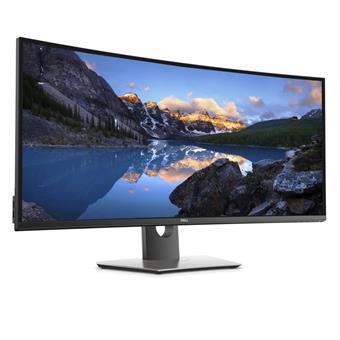 """38"""" LCD Dell U3818DW Ultrasharp WQHD+ IPS 21:9 5ms/1000:1/300cd/VESA/DP/HDMI/3RNBD/Černý"""