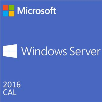 DELL MS Windows Server 2016 CAL/ 10 USER/ DOEM/ Standard/ Datacenter