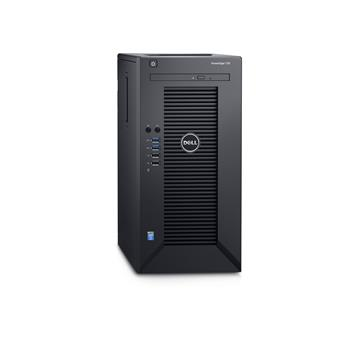 Dell PowerEdge T30 E3-1225 v5/8GB/2x1TB SATA/RAID 1/DVDRW/1xGLAN/290W/3RNBD/Černý