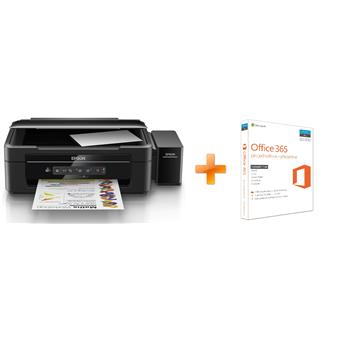 EPSON L386, A4, 5760x1440 dpi, 33/15 ppm + Office 365