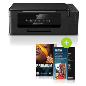 Epson L3050, A4, 5760x1440 dpi, 33/15 ppm, Wifi + 100x Fotopapír + 500x Office papír