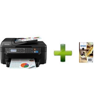 EPSON WorkForce WF-2750DWF,4800x1200 dpi,33/20 ppm + černý XL inkoust