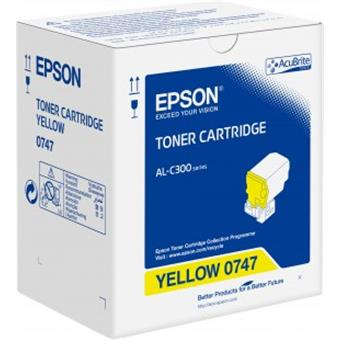 Toner Cartridge Yellow pro Epson WorkForce AL-C300