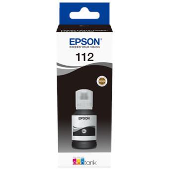 Epson 112 EcoTank Pigment Black ink bottle