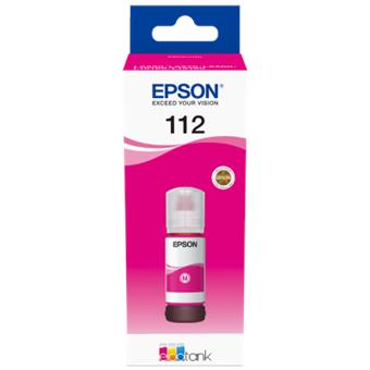 Epson 112 EcoTank Pigment Magenta ink bottle