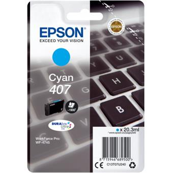 EPSON WF-4745 Series Ink Cartridge XL Cyan