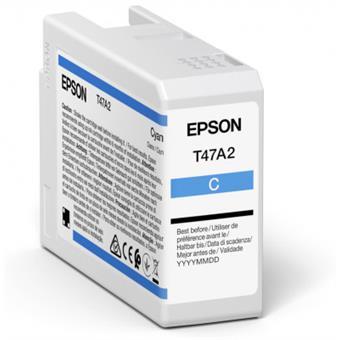 Epson Singlepack Cyan T47A2 Ultrachrome
