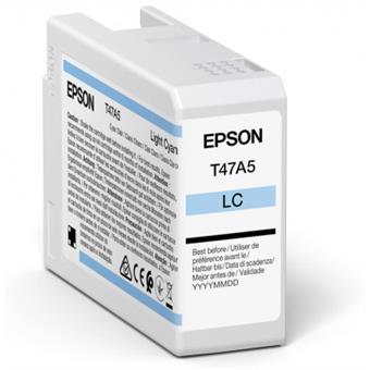 Epson Singlepack Light Cyan T47A5 Ultrachrome