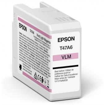 Epson Singlepack Vivid Light Magenta T47A6