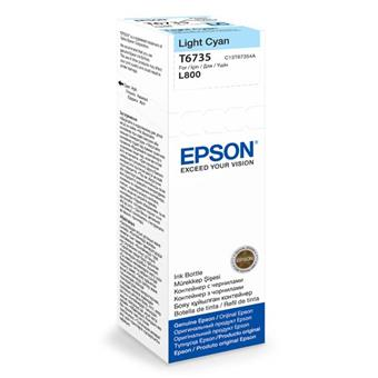 Epson T6735 Light Cyan ink 70ml  pro L800