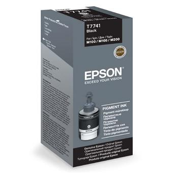 Epson T7741 Black ink 140ml pro M100/105/200
