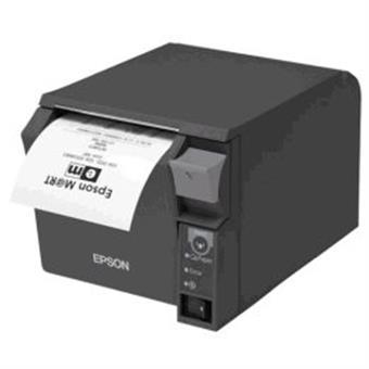 - Epson TM-T70II (025A0): Serial + Built-in USB, PS, černá, EU