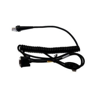 RS232 kabel(+/-12V signals),Wincor Nixdorf Terminal, black, DB9 Male, 3m