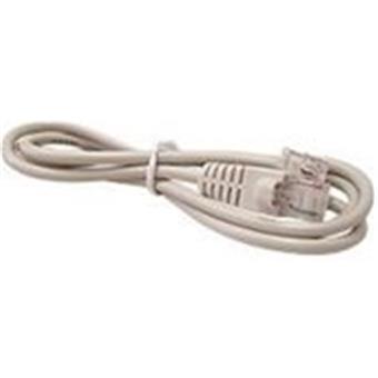 Kabel béžový 24V pro pokladní zásuvky DOXY - RJ12/RJ12 délka 1,5m
