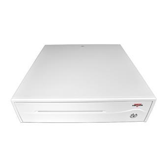 Pokladní zásuvka C420C - s kabelem, 9-24V, jasně bílá