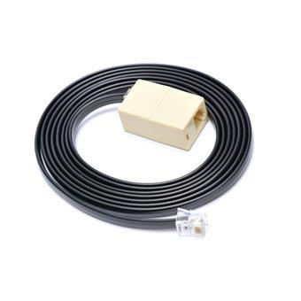 Prodlužovací kabel RJ12 pro pokladní zásuvku,2m,če